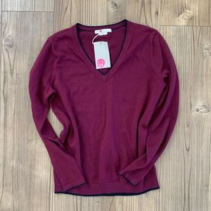 NWT Boden V-neck Sweater
